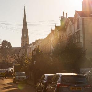 Clifton Park Road Sunlight