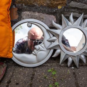 Street Leavings Selfie